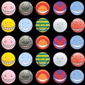 Korosensei expressions - Black - Big