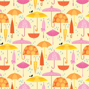Pretty Parasols For Precipitation