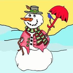 Dapper Mister Snowman