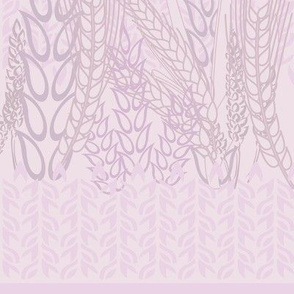 Grains on the Plains in Muted Mauve