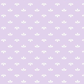 Ditsy Scallop in Lavender