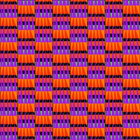 Mountains Orange Purple fabric by eve_catt_art on Spoonflower - custom fabric