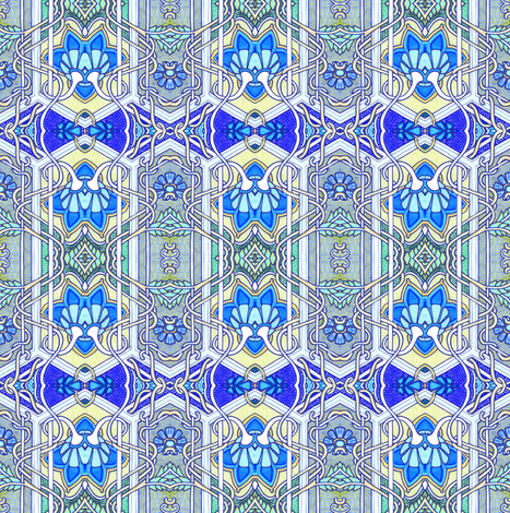 Someone's In the Kitchen With Grandma fabric by edsel2084 on Spoonflower - custom fabric