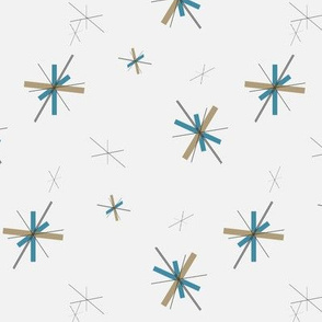 50's Style Atomic Starburst