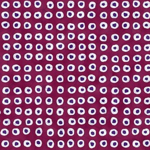 Batik Loops Cool Raspberry