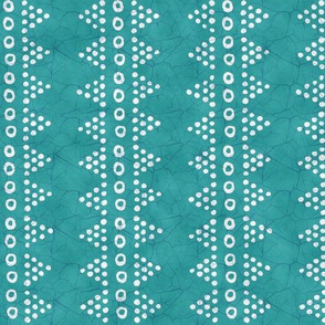 Batik Triangle Stripe Cool Aqua