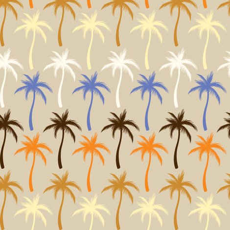 Palm Trees #6 fabric by ornaart on Spoonflower - custom fabric