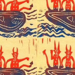 Devils in the Same Boat #1