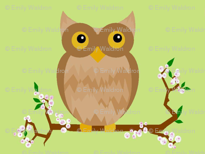 little owls - spring