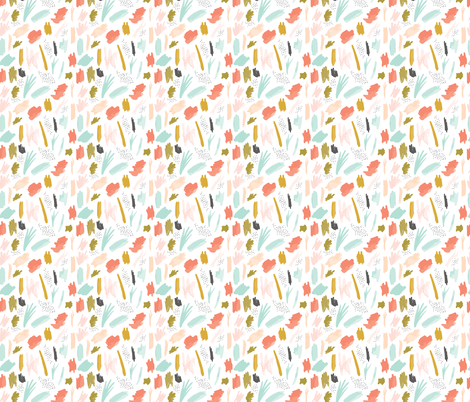 abstract 01 // small  fabric by ivieclothco on Spoonflower - custom fabric