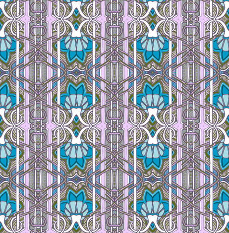 If I Could Visit 1914 fabric by edsel2084 on Spoonflower - custom fabric