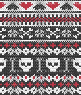 Sweater Knit Rocks