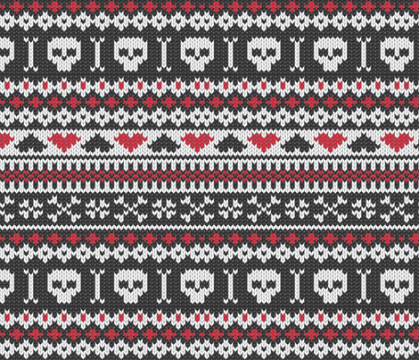 Sweater Knit Rocks fabric by herewesewagain on Spoonflower - custom fabric