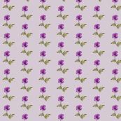 Poppy Royal Purple on Mushroom Grey