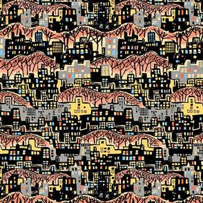 Cityscape Multi Color