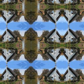 A Mirrored Village