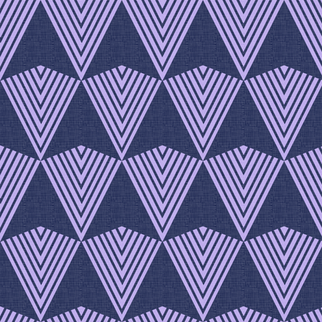 Arrows >>> Navy + Lavender fabric by veritymaddox on Spoonflower - custom fabric