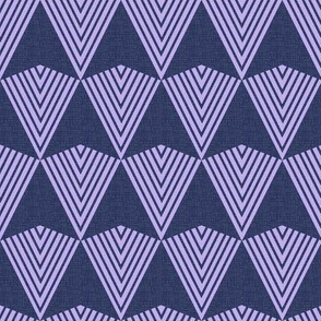 Arrows >>> Navy + Lavender
