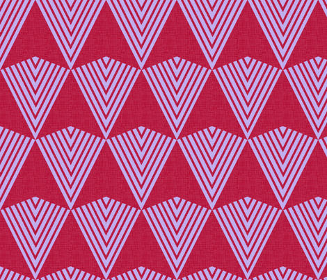 Arrows--> red + lavender fabric by veritymaddox on Spoonflower - custom fabric