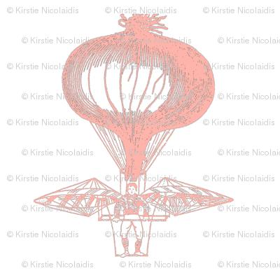 Onion Balloon (Blush)