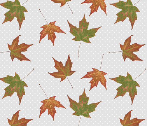 Fall blend fabric by constantsunrise on Spoonflower - custom fabric