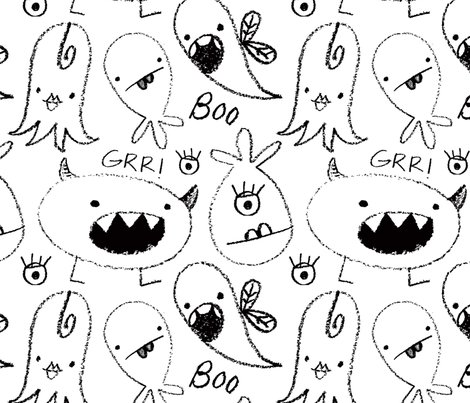 Crayon_monsters_bw_shop_preview