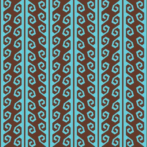 guatamalan yurt strap sky and earth fabric by keweenawchris on Spoonflower - custom fabric