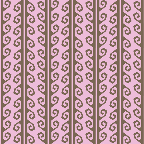 guatamalan yurt strap lichen pink fabric by keweenawchris on Spoonflower - custom fabric