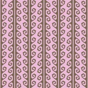 guatamalan yurt strap lichen pink