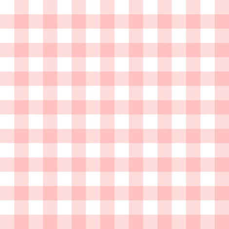 Gingham Check in peony pink fabric by lilyoake on Spoonflower - custom fabric
