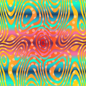 India_colors_swoopy_overlay_horizontal_stripes