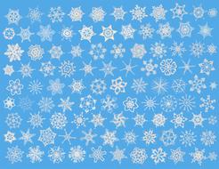 Snowcatcher Crochet Blue fabric by snowcatcher on Spoonflower - custom fabric