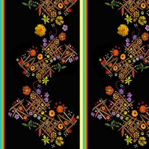 long_tic_tac_toe_panel_rainbow_border_spoonflower_res