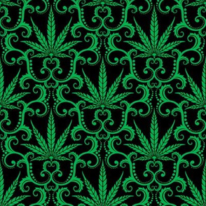 Hemp Damask 1 medium