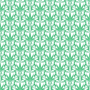 Hemp Damask 2- medium
