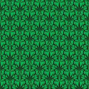 Hemp Damask 3- medium
