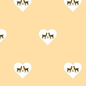 Llama hearts