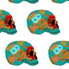 Calavera by Debbie Porter - Designs of an Eclectique Heart