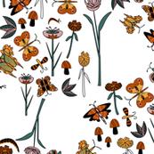 Geometric Butterflies (4sale) white