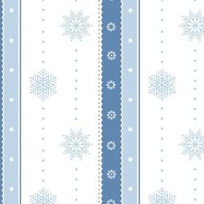 Snowflakes and Ribbons