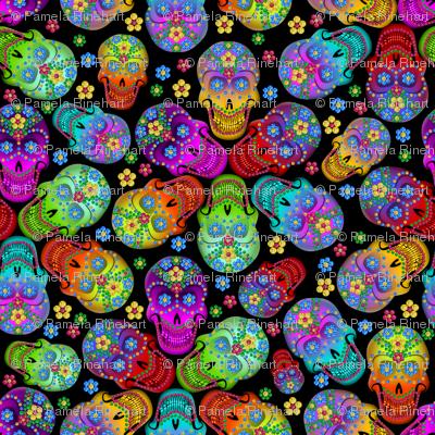 Colorful Calaveras
