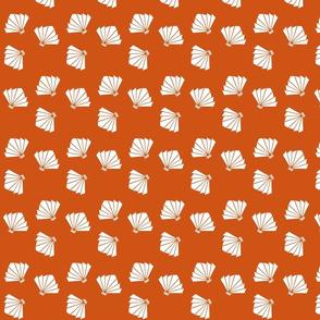 Falling Fans Firecracker Orange