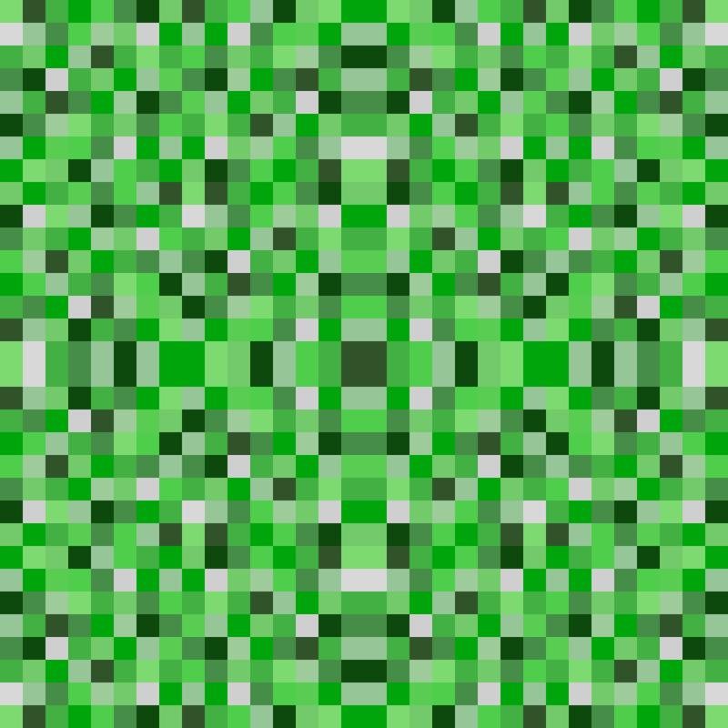 8-bit Darker Green Pixels - 1 5