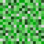8-bit Darker Green Pixels- 3/4ths of an inch