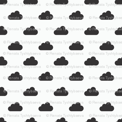 black and white clouds v2