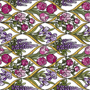 framed_flowers_pink_and_purple_gold_texture_white F off turned