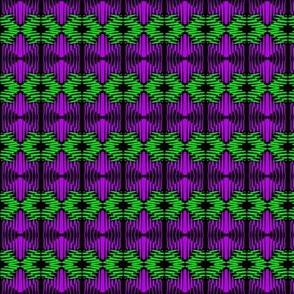 Green Oasis Purple Diamonds