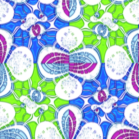 Glass Puddles fabric by eclectic_house on Spoonflower - custom fabric