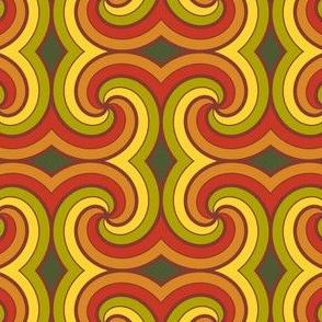 03586361 : spiral 8 4g : furled fall foliage
