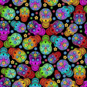 Colorful Calaveras small